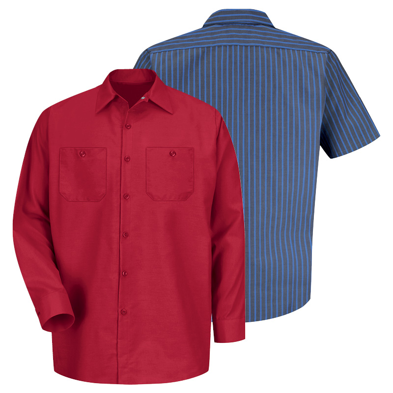 uniform rental general-workwear-any-industry-industrial-work-shirt-red-kap