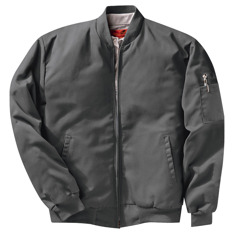 uniform rental outerwear-solid-team-jacket-red-kap