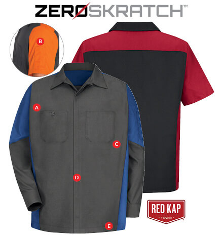 zeroskratch work shirt max i walker uniform rental service