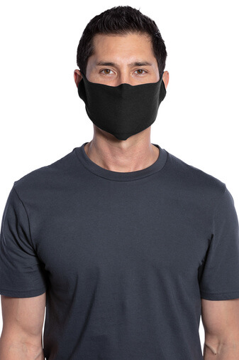 50/50 Cotton/Poly Face Covering Face Mask 3