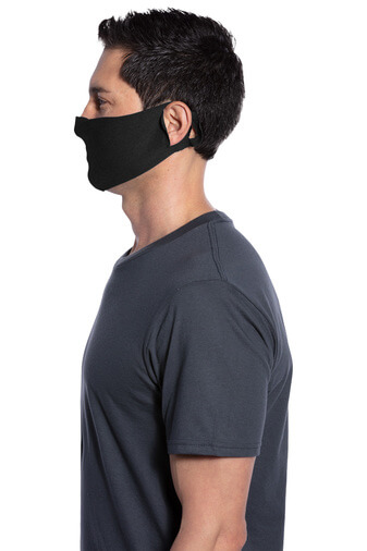 50/50 Cotton/Poly Face Covering Face Mask 2