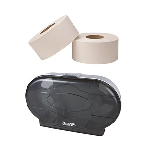 Toilet Paper from Renown & Dispenser