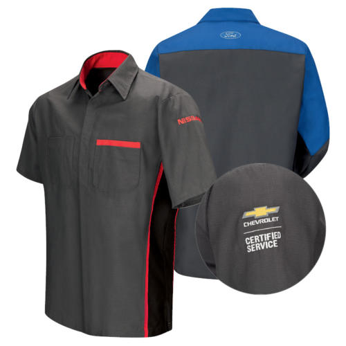 Automotive Dealer Program Work Shirts from Red Kap