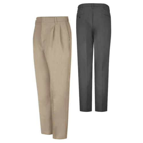 Pleated Twill Pants from Red Kap