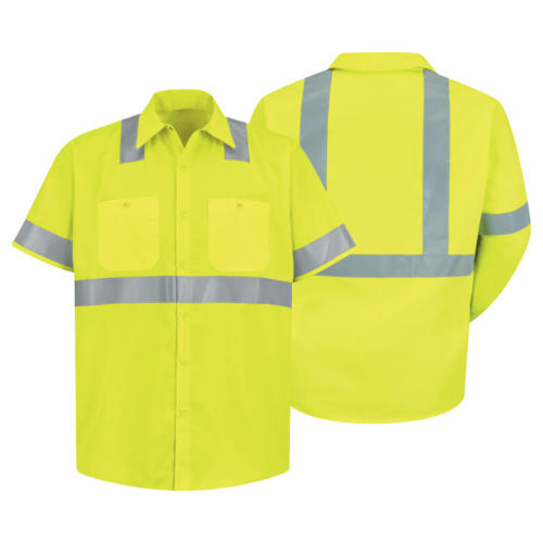 Hi-Visibility Work Shirt: Class 2, Level 2 from Red Kap