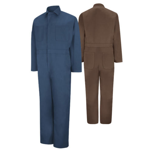 Twill Action-Back Coveralls from Red Kap